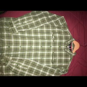 The North Face Long sleeve button down.